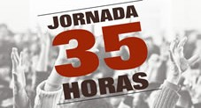 Cartel 35h sindicatos alternativos abril16